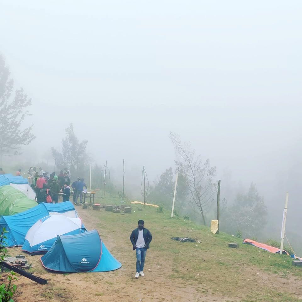 poombarai campsite